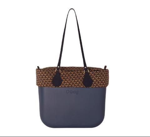 O bag jaquard blu navy O Bag Linea O bag