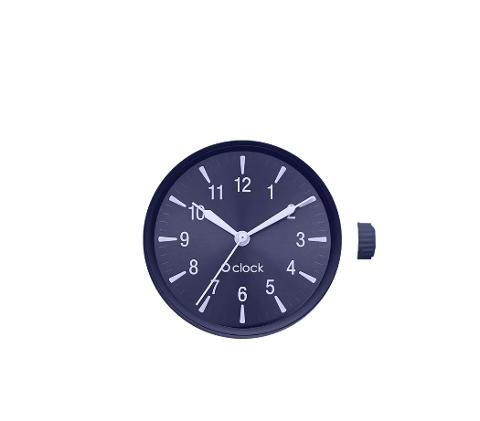 O bag meccanismo glow number blu  O Bag linea O clock Dimensione 32mm diametro