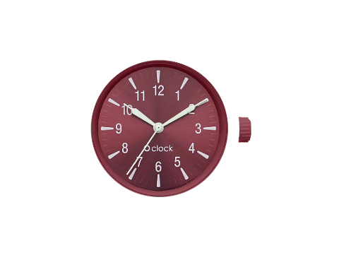 O bag meccanismo glow number bordo O Bag 	linea O clock Dimensione 32mm diametro