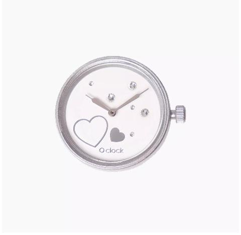 Meccanismo star lovers argento O clock O Bag Dimensione 32mm diameter