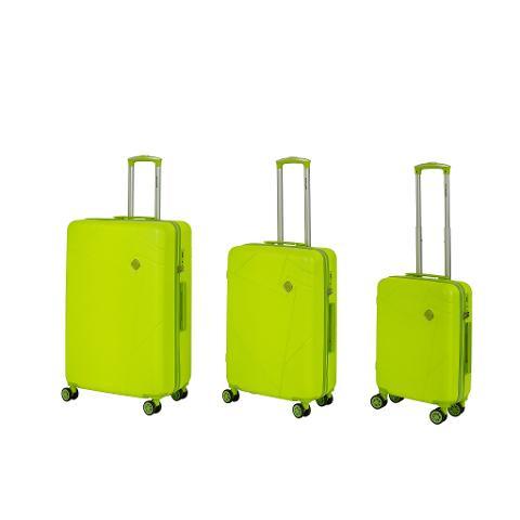 Set 3 trolley grande - medio - cabina Verde Lime RAVIZZONI RAINBOW