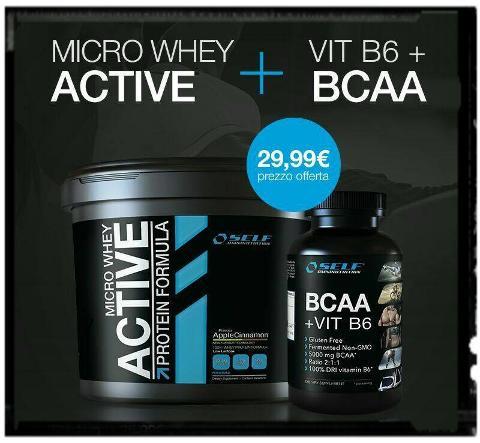 PROMO WHEY ACTIVE + BCAA B6