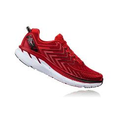 HOKA ONE ONE  CLIFTON 4 RED Hoka one one