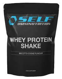 Whey Protein Shake  Self Omnutrition