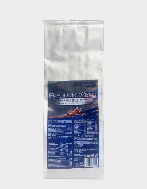 Platinum Whey 2X 500g Multipower