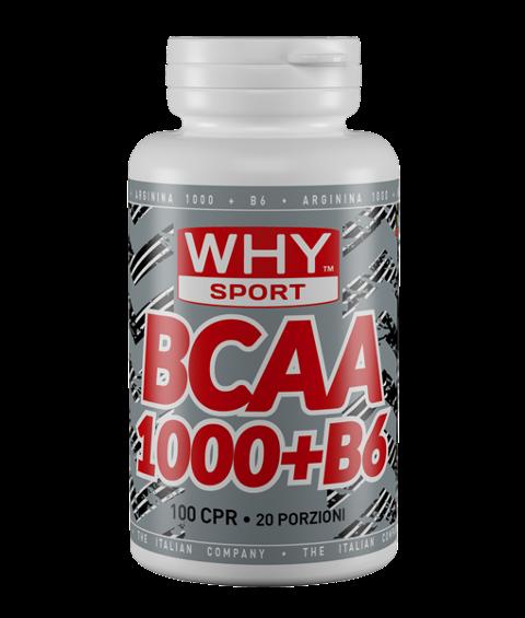 BCAA 1000+B6 Why Sport