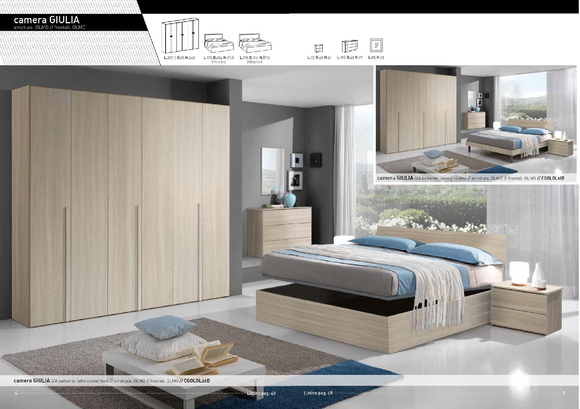 Beautiful camera da letto palermo gallery idee for Arredamento palermo offerte