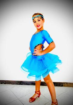 abito danze latine jr   duo Latin  - Lidya Dance  - Ambra