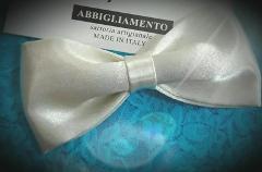 Papillon elegante - Atelier Lidya - Raso panna