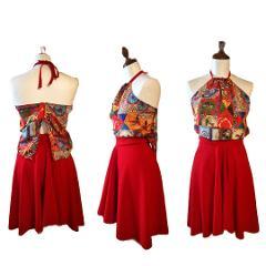 Completo stile siculo -Atelier Lidya - modello Rosita