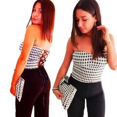 Completo top e pantalone - Atelier Lidya -Victoria