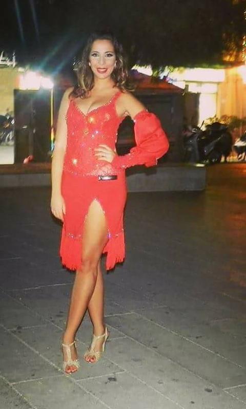 Abito danza latina Lidya Dance Zulema