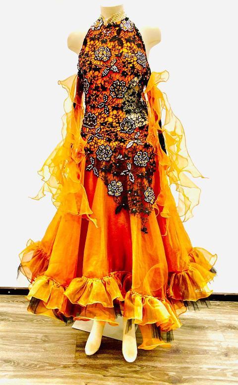 Abito danza standard Donna - Lidya Dance   - Mod. Victoria