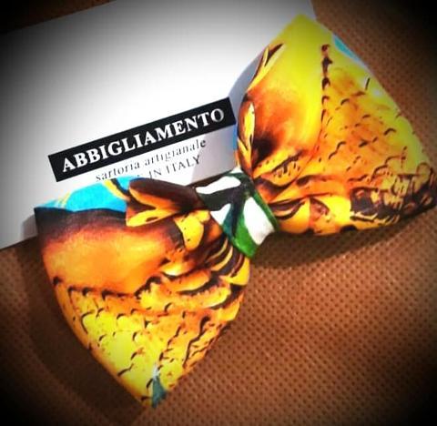 Papillon stile siciliano - Atelier Lidya - Trinacria