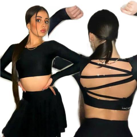 Completo allenamento danza latina (spedizione gratuita) -Lidya Dance -Sandy