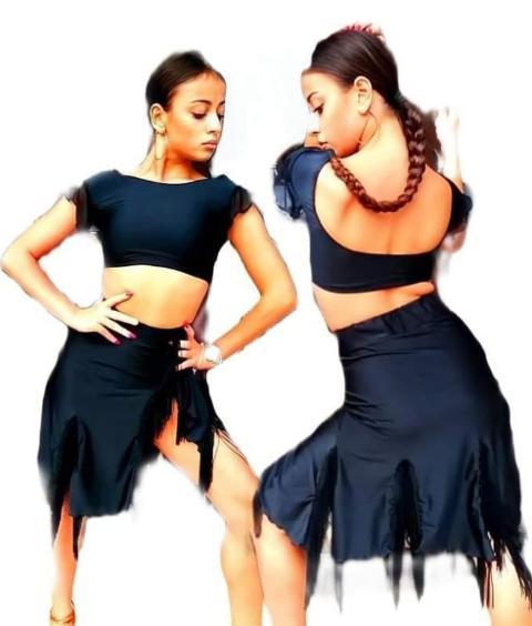 abito danze latine Lidya Dance Ambra