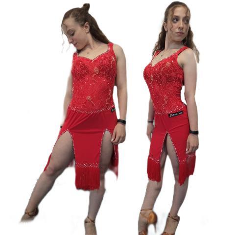 Abito  danza latina -Lidya Dance -Anay