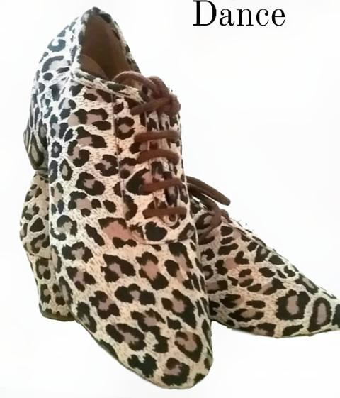 - Scarpa latino allenamento - Ray Rose - Leopard