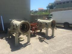 Revisione centrifuga industriale
