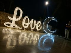 MR & MRS + Love Corsivo Matrimoni Wedding