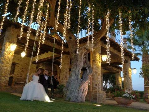GRAPPOLI PENDENTI LUCI PENDENTI  Luminarie Matrimonio