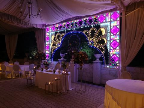ARCATA PATRONALE STYLE - Matrimonio - Luminarie Matrimoni Wedding