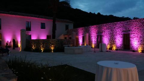 FARI ARCHITETTURALI LED Luminarie Matrimonio