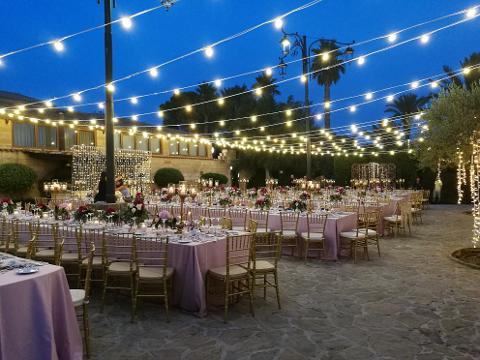 CIELO LUCI VINTAGE Weddind Lights Wedding