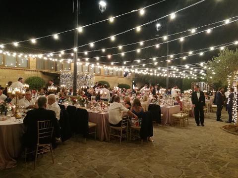 TETTO LUCI CIELO VINTAGE Luminarie Matrimonio