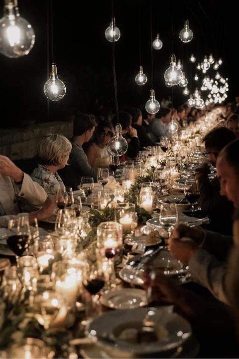 LAMPADE SU TAVOLO IMPERIALE MATRIMONIO Wedding Lights Lampade Vintage su Tavolo Matrimonio