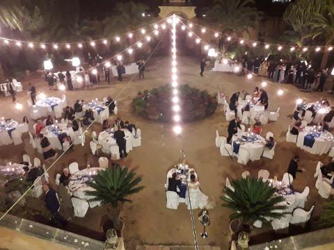 STRINGA 15 LAMPADE VINTAGE Luminarie Matrimonio