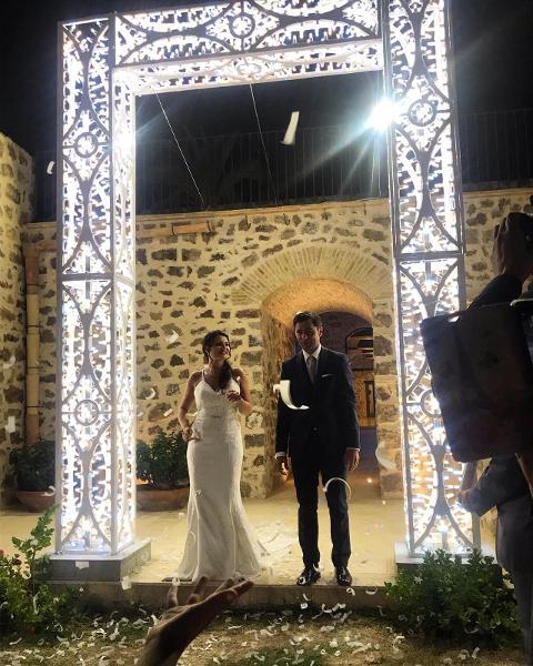 ARCO LUMINOSO CHARLESTON 3D Luminarie Matrimonio