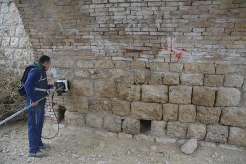 Indagini Georadar su strutture in muratura