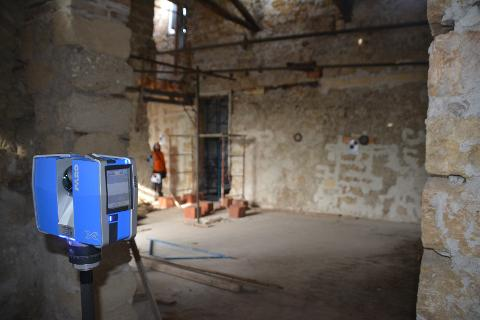 Rilievo mediante Laser Scanner