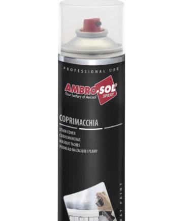 SMALTO SPRAY COPRIMACCHIA BIANCO 400ML AMBRO-SOL  VERNICE SPRAY