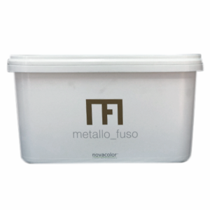 KIT METALLO FUSO KG.3,6 NOVACOLOR  RIVESTIMENTO DECORATIVO PER INTERNI A BASE DI POLVERI METALLICHE
