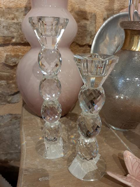 Candelabri in cristallo  Edg