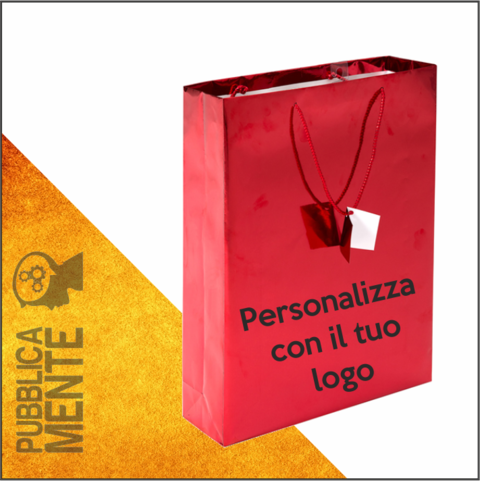 Shopper Rosso Lucido Luxury