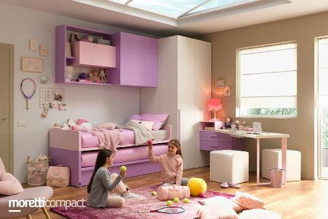 CAMERETTA MORETTI COMPACT KIDS COLLECTION - PONTI