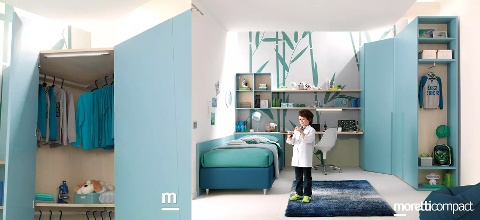 CAMERETTA MORETTI COMPACT KIDS COLLECTION KC306