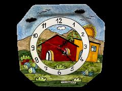 Piatto Ottagonale Nino Parrucca ad orologio
