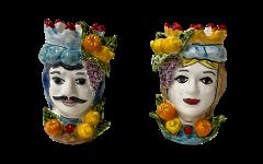 Testa di Moro Nino Parrucca con Frutta