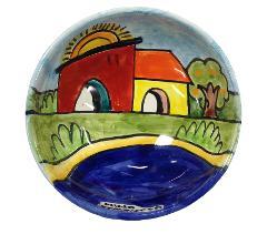 Ciotola Macedonia Nino Parrucca in Ceramica