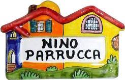 Piastrella a casetta Nino Parrucca