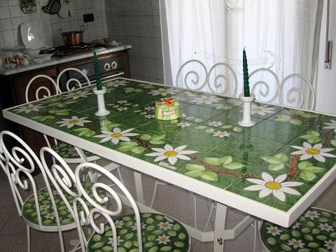 Tavolo rettangolare Nino Parrucca cm. 160x80