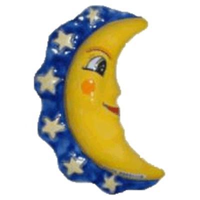 Luna con stelle Nino Parrucca h 16 cm