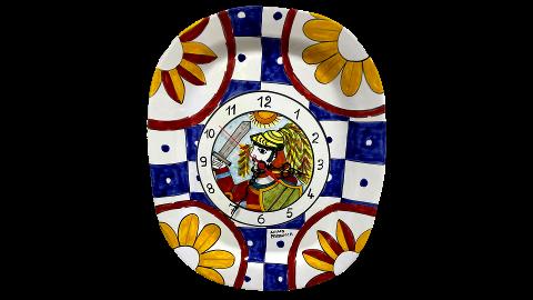 Orologio Ottagonale Nino Parrucca a piatto