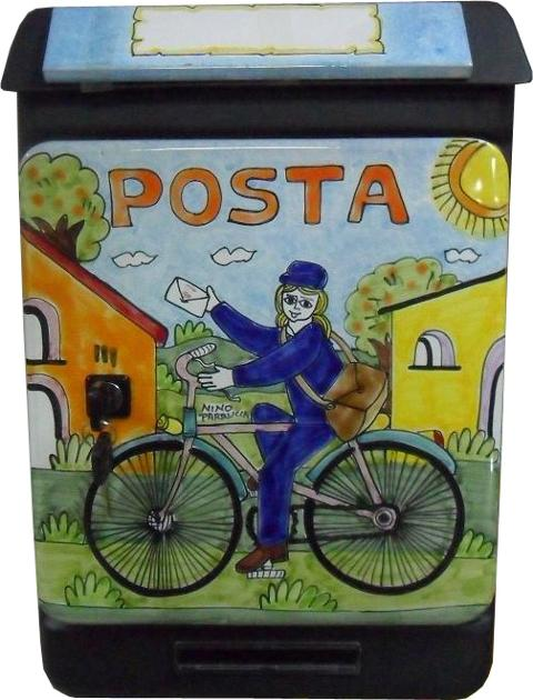Cassetta Postale Nino Parrucca Personalizzata