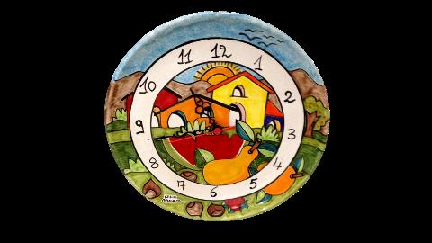 Orologio Nino Parrucca su Piatto