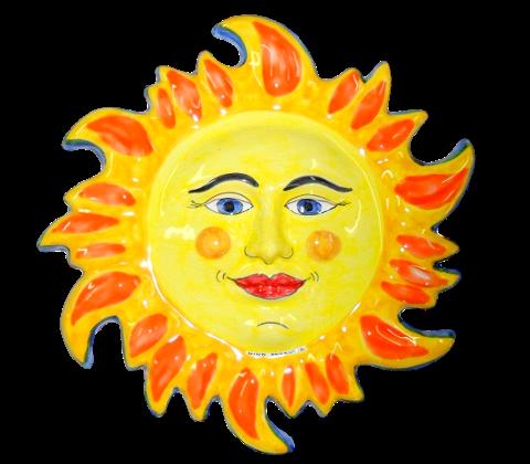 Sole grande Nino Parrucca in Ceramica